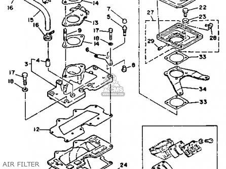 1994 Wave Blaster Wb700s Parts as well Kill Switch Wiring Diagram besides Honda Atc 200 Carb Diagram also Partslist besides Yamaha Utv 300 Engine Diagram. on yamaha waverunner 3