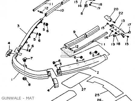 Yamaha Wra650ra 1993 Waverunner Parts Lists And Schematics