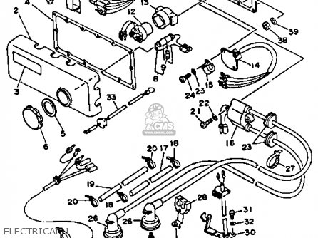 Yamaha Wrb650q 1992 Fn8 Waverunner Parts Lists And Schematics