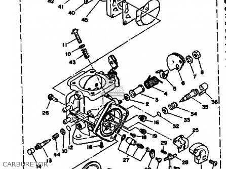 Yamaha Wrb650ra 1993 Waverunner Parts Lists And Schematics
