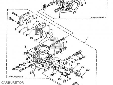 Yamaha 200 1994 Wiring Diagram