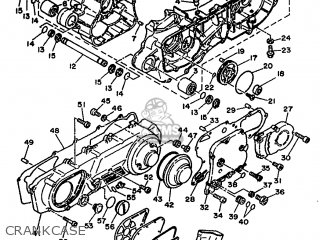 Yamaha Xc 1993 3te3 Germany 233te-332g2 Crankcase