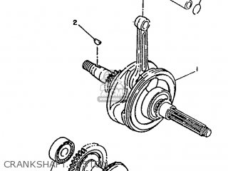 Yamaha Xc 1993 3te3 Germany 233te-332g2 Crankshaft  Piston