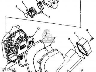 Yamaha Xc 1993 3te3 Germany 233te-332g2 Intake