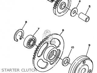 Yamaha Xc 1993 3te3 Germany 233te-332g2 Starter Clutch