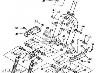 Yamaha Xc 1993 3te3 Germany 233te-332g2 Steering
