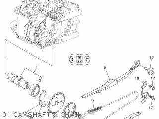 Yamaha Xc115s 2014 2ep1 Europe Delight 1n2ep-300e1 04 Camshaft  Chain
