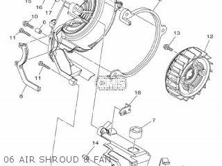 Yamaha Xc115s 2014 2ep1 Europe Delight 1n2ep-300e1 06 Air Shroud  Fan