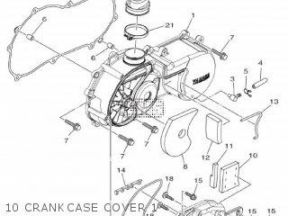 Yamaha Xc115s 2014 2ep1 Europe Delight 1n2ep-300e1 10 Crankcase Cover 1