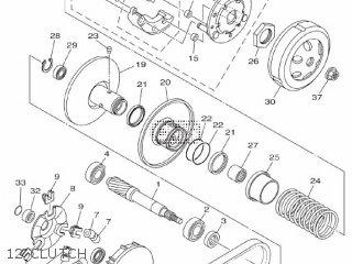 Yamaha Xc115s 2014 2ep1 Europe Delight 1n2ep-300e1 12 Clutch