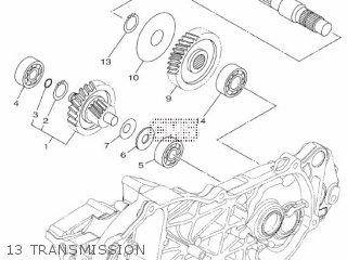 Yamaha Xc115s 2014 2ep1 Europe Delight 1n2ep-300e1 13 Transmission