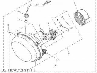 Yamaha Xc115s 2014 2ep1 Europe Delight 1n2ep-300e1 32 Headlight