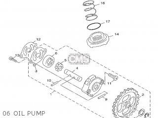 Yamaha Xf50 2009 15p5 Europe Giggle 1h15p-300e1 06 Oil Pump