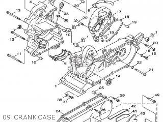 Yamaha Xf50 2009 15p5 Europe Giggle 1h15p-300e1 09 Crankcase