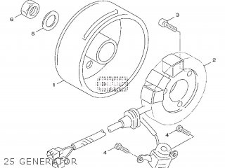 Yamaha Xf50 2009 15p5 Europe Giggle 1h15p-300e1 25 Generator
