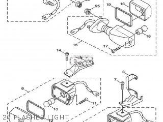 Yamaha Xf50 2009 15p5 Europe Giggle 1h15p-300e1 27 Flasher Light