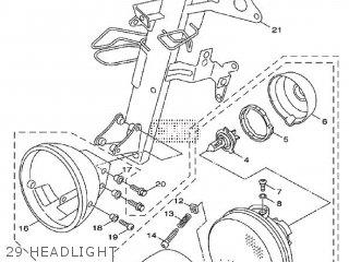 Yamaha Xf50 2009 15p5 Europe Giggle 1h15p-300e1 29 Headlight