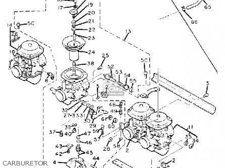 Yamaha Xj1100 Maxim 1982 c Usa Carburetor