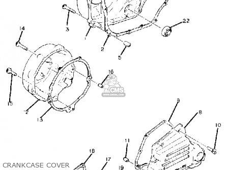 yamaha xj1100 maxim 1982 (c) usa parts lists and schematics 1982 yamaha 750 virago wiring diagram