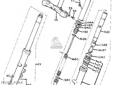 Yamaha Xj1100 Maxim 1982 c Usa Front Fork