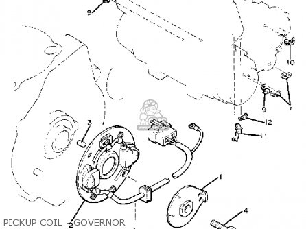 Yamaha Xj1100 Maxim 1982 c Usa Pickup Coil - Governor