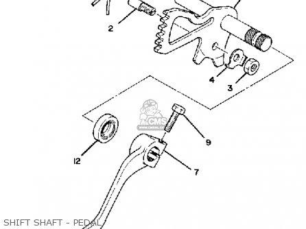 Yamaha Xj1100 Maxim 1982 c Usa Shift Shaft - Pedal