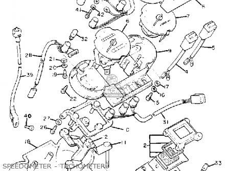 Yamaha Xj1100 Maxim 1982 c Usa Speedometer - Tachometer
