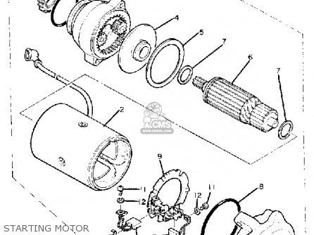 1982 yamaha maxim 1100 wiring diagram yamaha maxim 1100