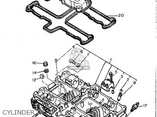 Yamaha Xj600 1986 51j England 2651j 310e1 Parts Lists And Schematics