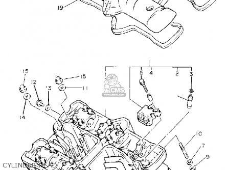 yamaha xj600s seca ii 1993 (p) usa parts lists and schematics yamaha seca 2 wiring diagram yamaha g16 engine wiring diagram