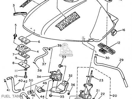 Fuel System Diagram For A  Yamaha Seca