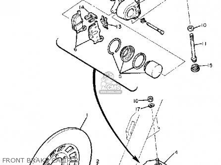Yamaha Xj650 Maxim 1980 a Usa Front Brake Caliper