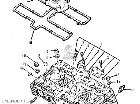 81 Xs650 Engine Diagram