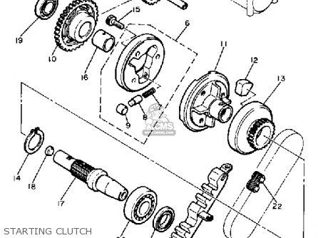 Yamaha Xj650 Maxim 1981 B Usa Parts Lists And Schematics