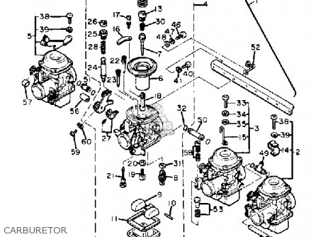 Honda Rancher 350 Engine Timing moreover Yamaha 250 Bear Tracker Wiring Diagram moreover Grizzly 660 Carburetor Diagram in addition Yamaha Atv 1991 1995 Yfm 350 Moto 4 Repair Manual Improved together with Yamaha Grizzly 660 Parts Diagram. on yamaha big bear 350 carburetor adjustment