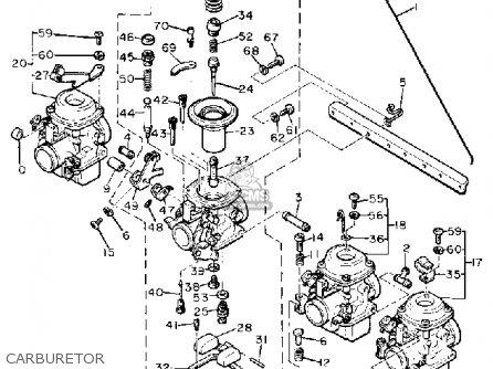 Yamaha Xj650g Maxim 1980 Carburetor