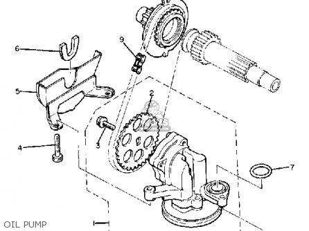 Yamaha Xj650g Maxim 1980 Oil Pump