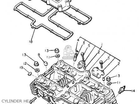yamaha xj650l midnightmaxim 1981 b usa parts lists and schematics. Black Bedroom Furniture Sets. Home Design Ideas