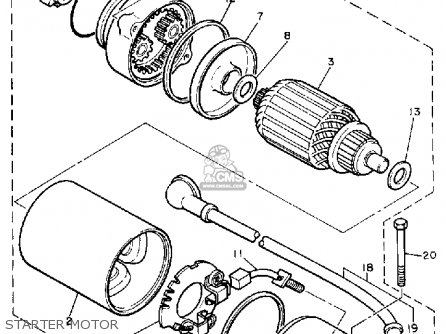1981 Yamaha Xs 400 Wiring Diagram on bobber wiring diagram