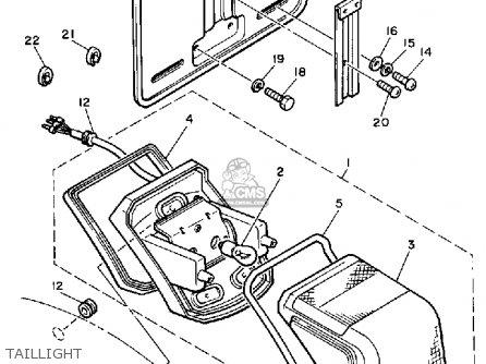 1983 yamaha maxim 750 starter button wiring diagram yamaha xj750k maxim 1983 parts list partsmanual partsfiche