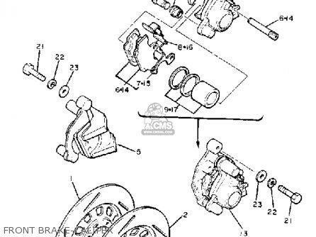 Yamaha Xj750m Midnightmaxim 1983 d Usa Front Brake-caliper