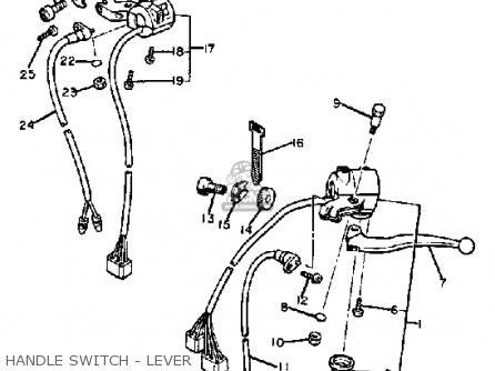 starter relay wiring diagram 1983 dodge d 150 1983 yamaha maxim 750 starter button wiring diagram yamaha xj750r seca 1983 (d) usa parts list partsmanual ...