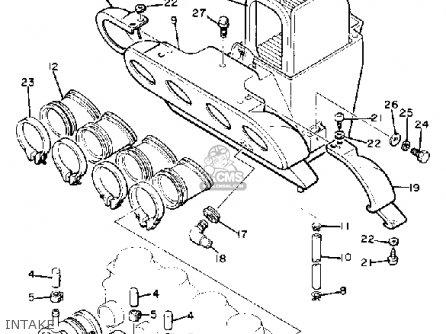 1981 Yamaha Seca Wiring Diagram