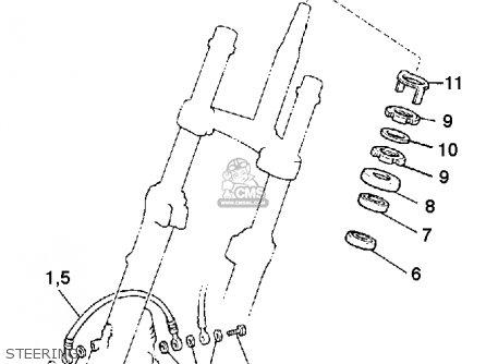 Yamaha Xj900r Seca 1983 d Usa Steering