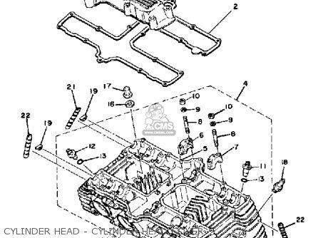 Vacuum Hose Diagram 1979 Yamaha Xs1100 Vacuum Free