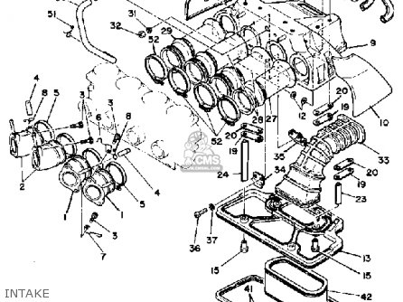 Yamaha Xs1100 1981 B Usa Parts Lists And Schematics