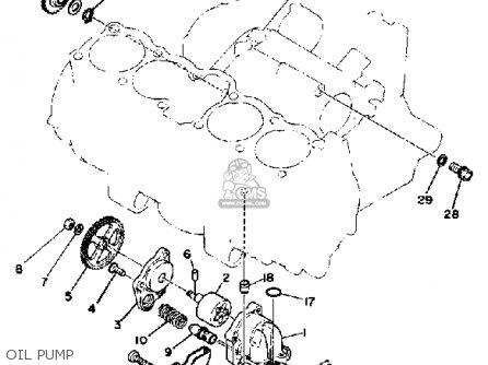 Yamaha XS1100 1981 (B) USA parts lists and schematics on
