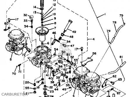 Partslist besides 1980 Yamaha 1100 Wiring Diagrams also Partslist in addition  on 1979 yamaha xs 1100 carburetor