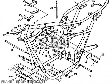 1972 Yamaha 650 Wiring Diagram