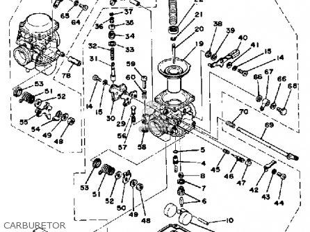 yamaha xs360 1977 usa parts lists and schematics xs360 cafe racer yamaha xs360 1977 usa carburetor